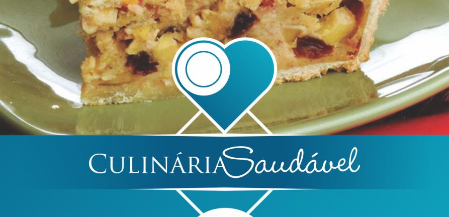 Culinária Saudável: Torta de Maçã