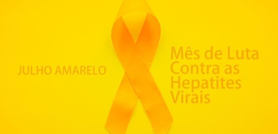 Julho Amarelo marca a luta contra as hepatites virais