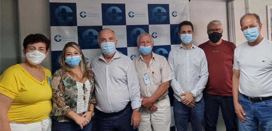 Deputado Inácio Franco consegue verba de R$1.398.000,00 para o HNSC
