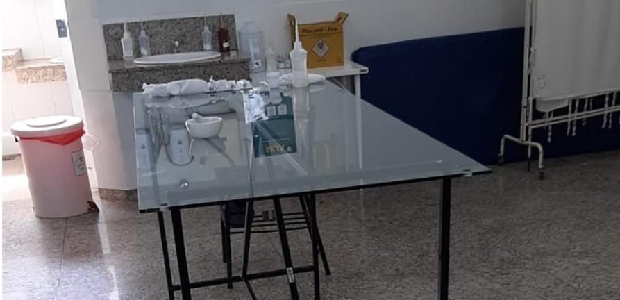Projet doa vidros temperados para o CTI