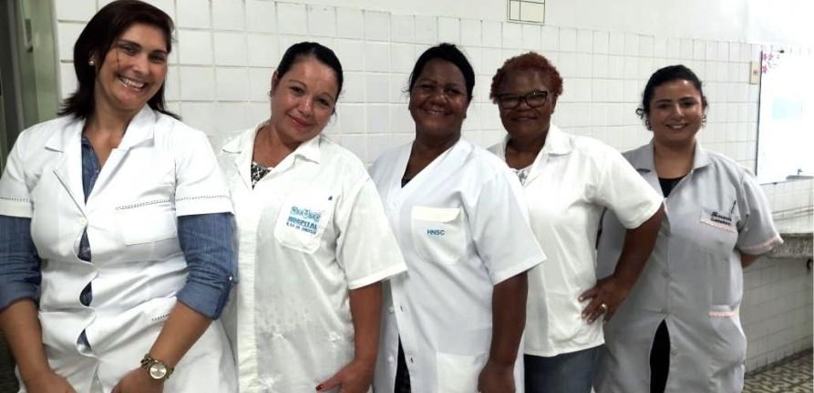 HNSC recebe visita de alunos do curso de cuidador de idosos para experiência clínica