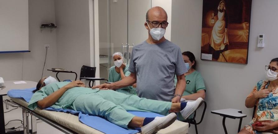 Enfermagem participa de capacitação ortopédica